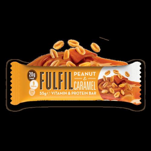 Fulfil - Peanut Caramel Eiwitreep (55 gr)