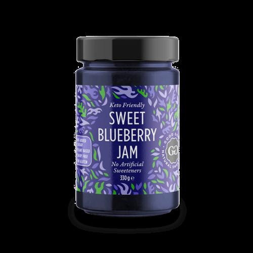 Good Good - Sweet Blueberry Jam met Stevia (330 gr)