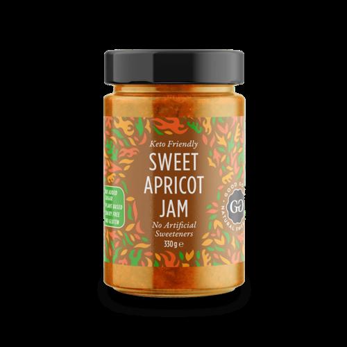 Good Good - Sweet Apricot Jam met Stevia (330 gr)