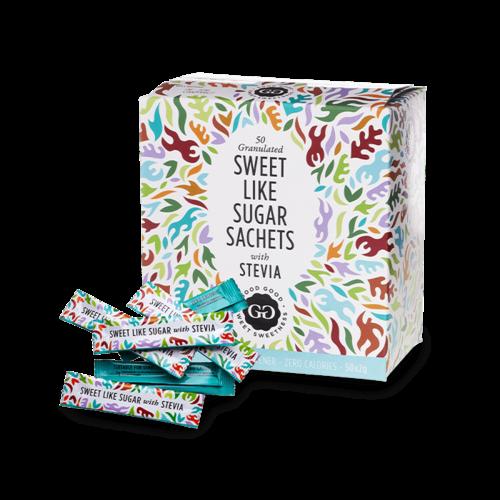 Good Good - Sweet Like Sugar Stevia Sticks (500 stuks)