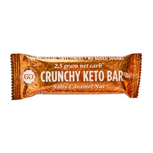Good Good - Crunchy Keto Bar Salty Caramel Nut (35 gr)