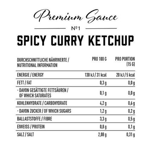 Got7 - Premium Spicy Curry Ketchup (285 ml)