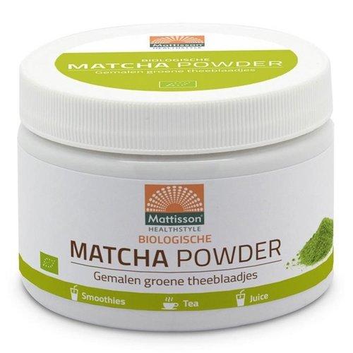 Mattisson - Bio Matcha Poeder (125 gr)