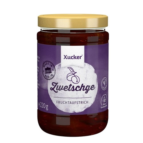 Xucker - Pruimen Jam (220 gr)