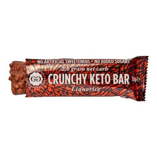 Good Good - Crunchy Keto Bar Liquorice (35 gr)