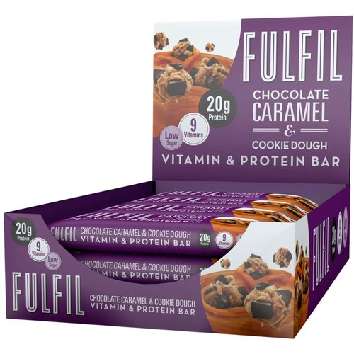 Fulfil - Chocolate & Caramel Cookie Dough Eiwitreep (55 gr)
