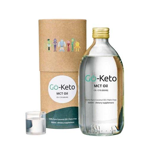 Go-Keto - Premium Kokos MCT-olie C8 (500 ml)