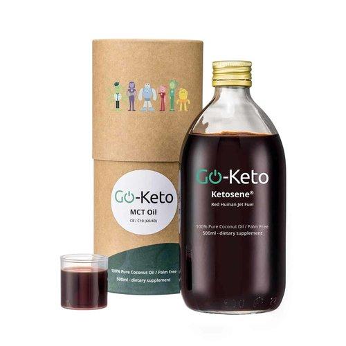 Go-Keto - Ketosene MCT-olie (60/40) (500 ml)