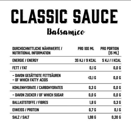 Got7 - Classic Sauce Balsamico (350 ml)