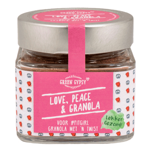 Green Gypsy Spices - Love, Peace & Granola (100 gr)