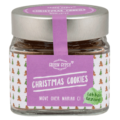 Green Gypsy Spices - Christmas Cookies kruidenmix (100 gr)