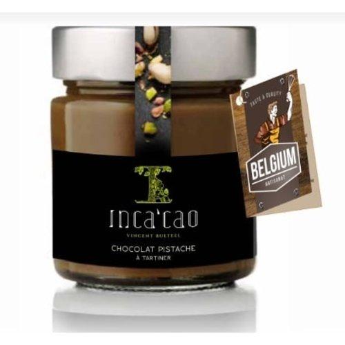 Inca'cao - Pistache-chocolade smeerpasta (125 gr)
