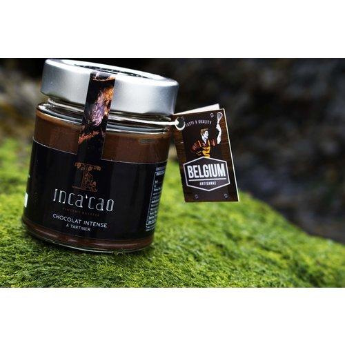 Inca'cao - Intense-chocolate  smeerpasta (125 gr)