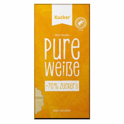 Xucker - Witte chocolade tablet (80 gr)