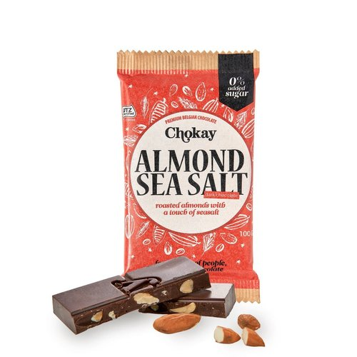 Chokay - Almond Sea Salt Tablet (100 gr)