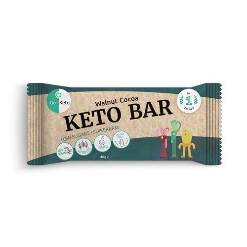 Go-Keto - Keto Bar Walnoot Cacao (40 gr)