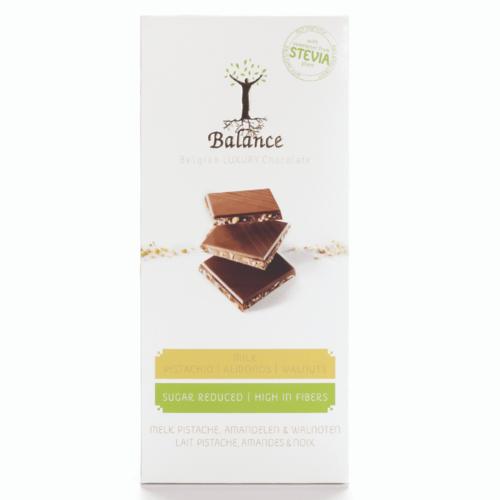 Balance - Luxury chocolate pistache stevia (85 gr)