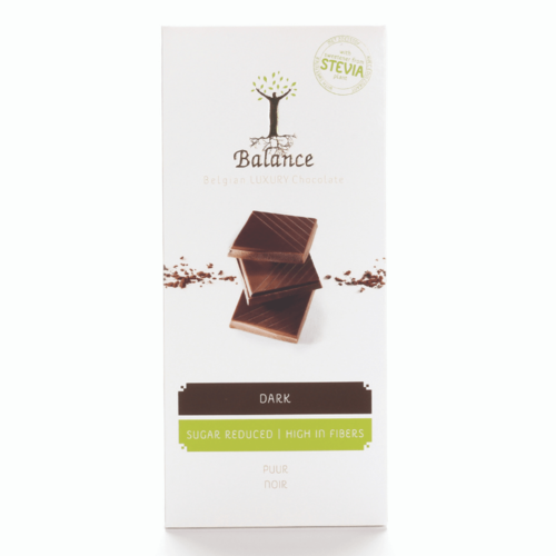Balance - Luxury chocolate puur stevia (85 gr)