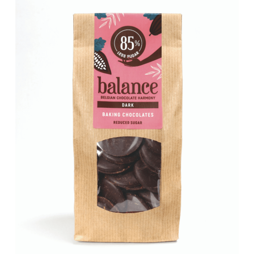 Balance - Bakchocolade puur stevia (300 gr)