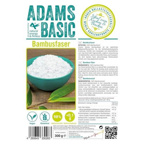 Adam's - Bamboevezels (300 gr)
