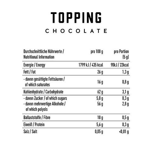 Got7 - Melkchocolade topping (175 gr)