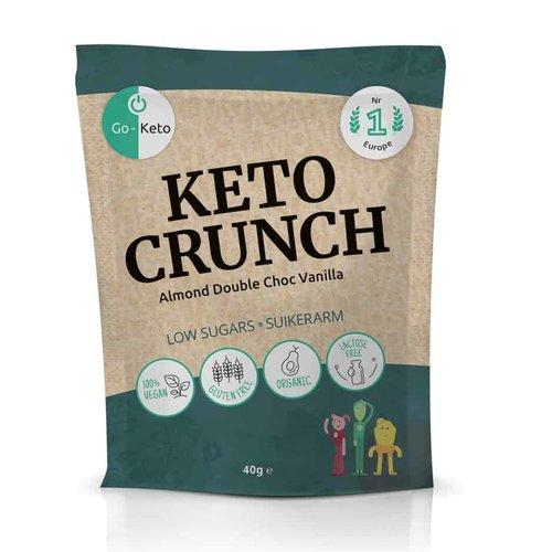 Go-Keto - Keto Crunch Almond Double Choc Vanilla (40 gr)