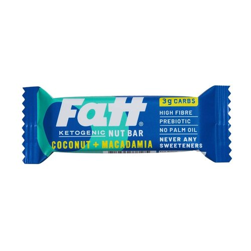 Fattbar - Coconut & Macademia (30 gr)