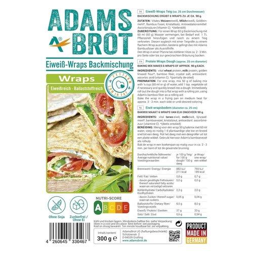 Adam's - Wraps bakmix (300 gr)