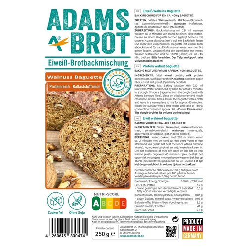 Adam's - Walnoot stokbrood (250 gr)