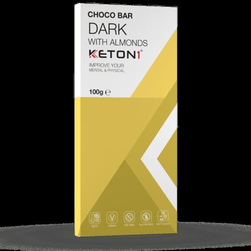 Keton1 - Keto Choco Bar Puur Amandel (100 gr)