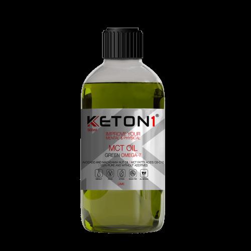 Keton1 – MCT Olie Green Omega 7 (500 ml)