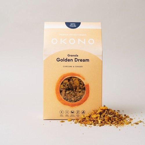 OKONO - Keto Granola Golden Dream (300 gr)
