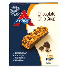 Atkins - Day Break Chocolate Chip Crisp Bar (5 repen)