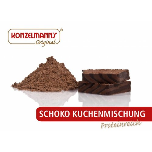 Konzelmann's - Chocolade cake mix (155 gr)