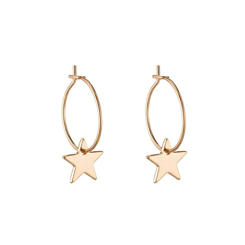 CHIC STAR EARRINGS - GOLD