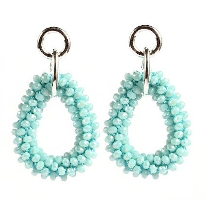 FAV EARRINGS - BABY BLUE