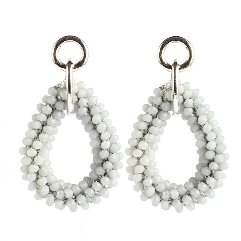 FAV EARRINGS - GREY