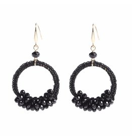 CHIC EARRINGS - BLACK
