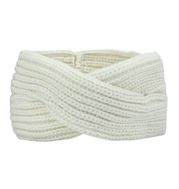 TWISTED HEADBAND - CREME
