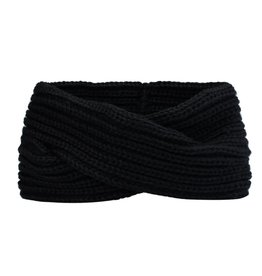 TWISTED HEADBAND - BLACK