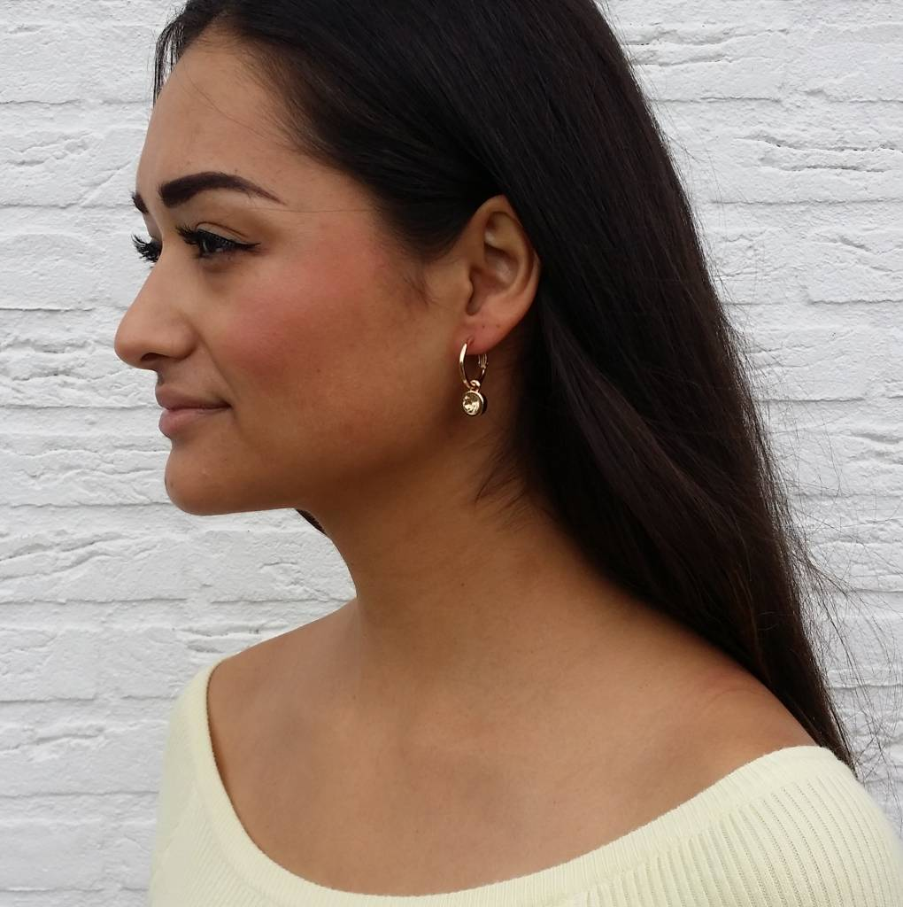 LA CHIC EARRINGS - GOLD/GOLD
