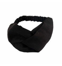 SUEDE TWISTED HEADBAND