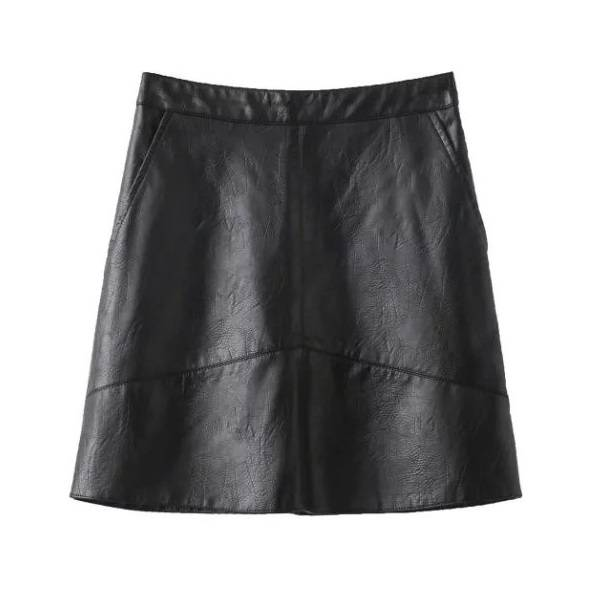 THE PERFECT LEATHER SKIRT