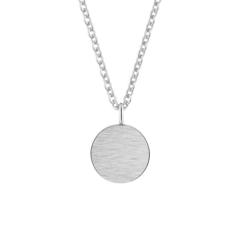 COIN NECKLACE - SILVER