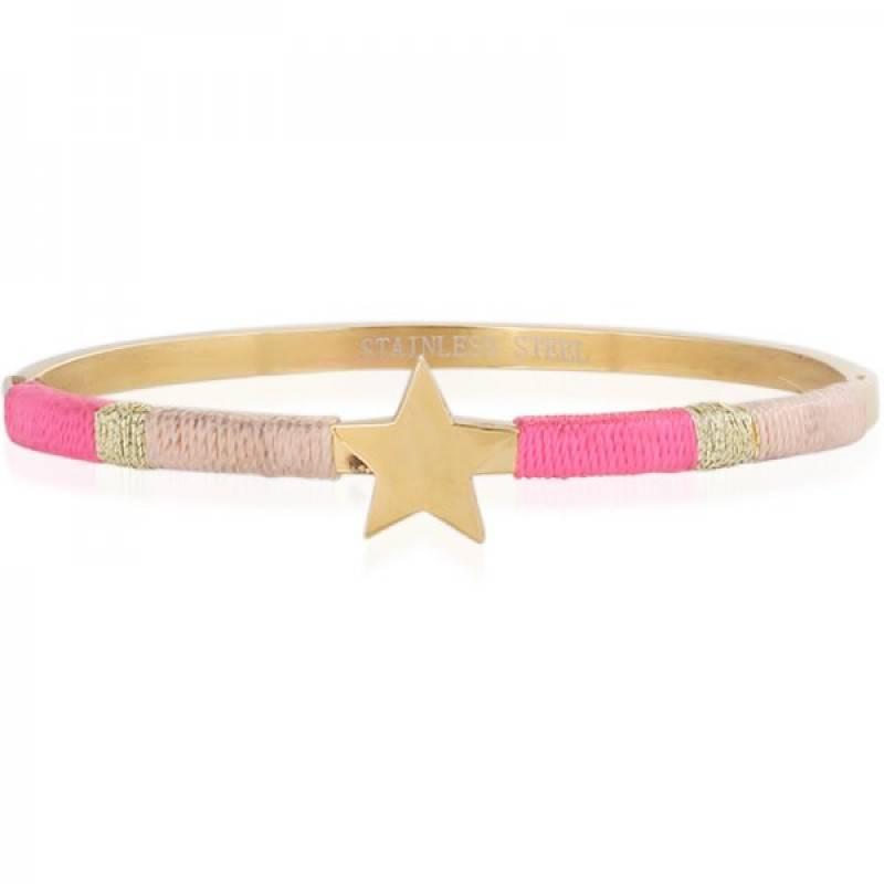 PINK STAR BANGLE