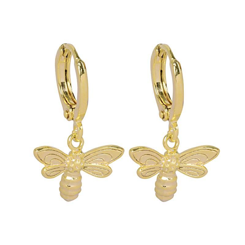 QUEEN BEE EARRINGS - GOLD