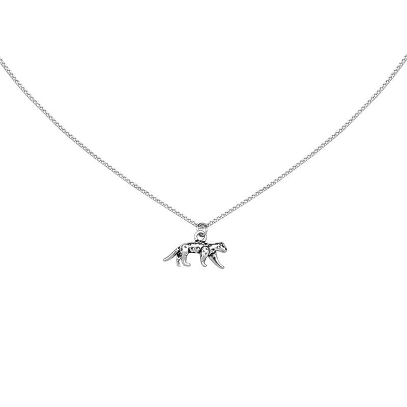 LEOPARD NECKLACE - SILVER