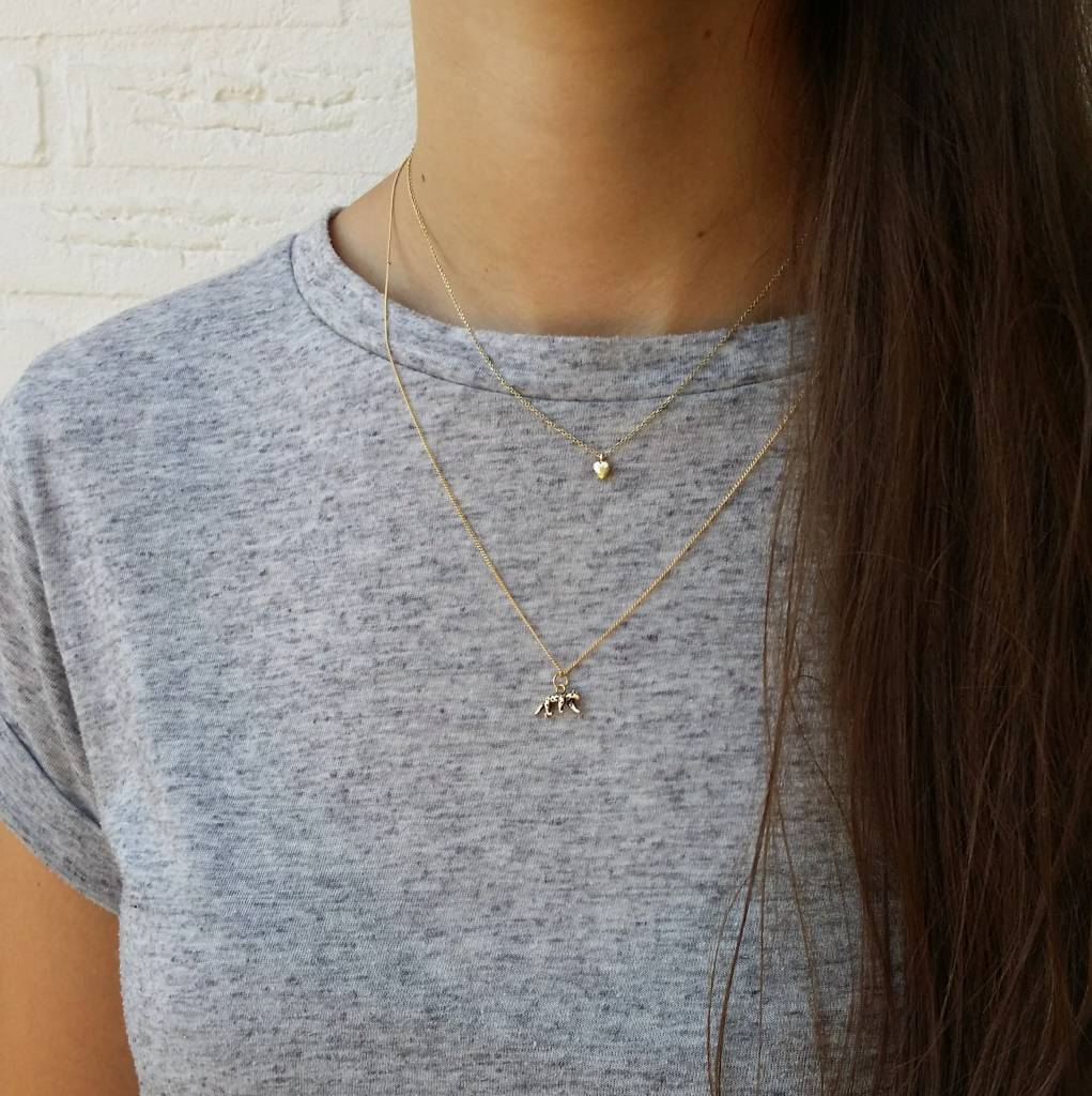 LEOPARD NECKLACE - GOLD