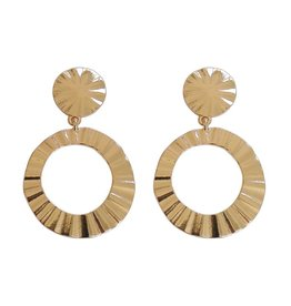 STYLISH EARRINGS - GOLD