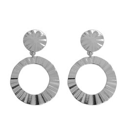 STYLISH EARRINGS - SILVER
